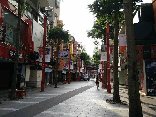 Ximen Red House - Ximending: Ximending at the morning