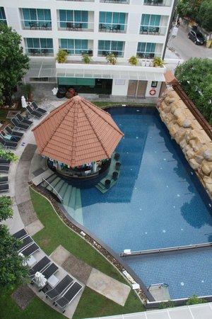 Centara Pattaya Hotel: From Balcony
