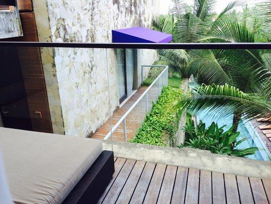 Taum Resort Bali: Balcony