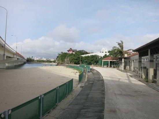 Naminoue Beach: 拡張されました