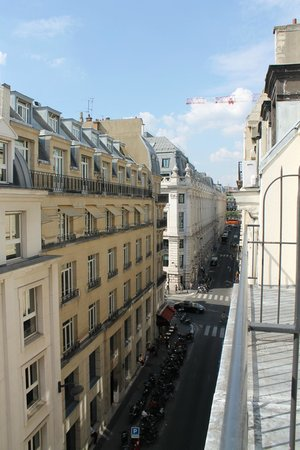 Lyric Hotel Paris: View