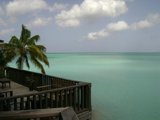 COCOS Hotel Antigua: View from one of hotel`s patio