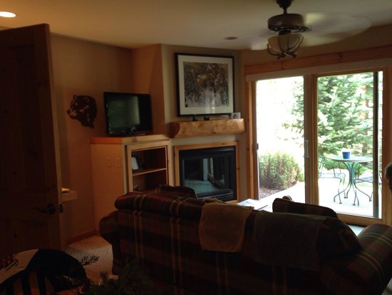 River Stone Resort and Bear Paw Suites: Living area