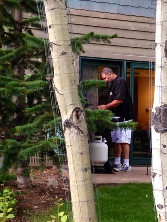 River Stone Resort and Bear Paw Suites: Cooking