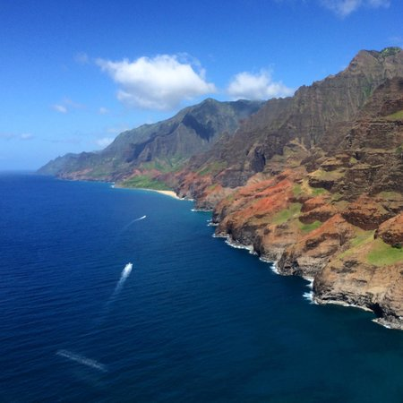 Jack Harter Helicopters - Tours: Na Pali from the air