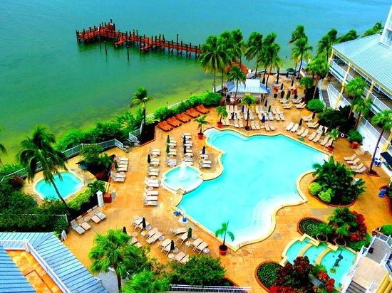 Sanibel Harbour Marriott Resort & Spa : OMG view from the balcony