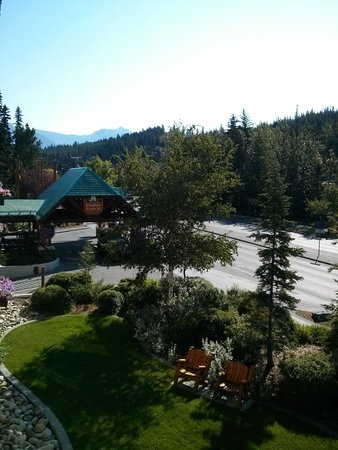 Banff Caribou Lodge & Spa : A Beautiful View