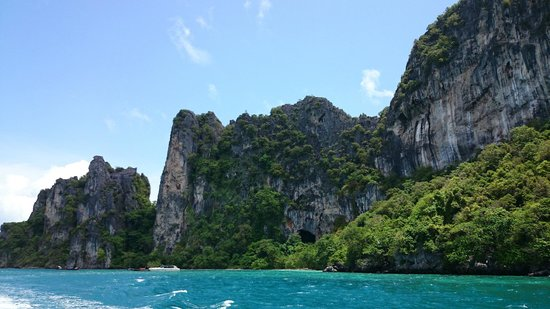 Phi Phi Islands: Mosquito island....