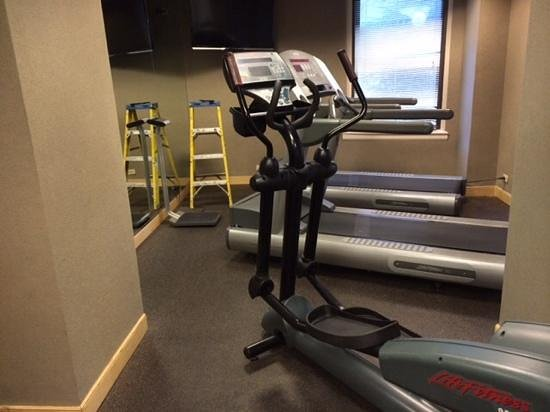 The Whitehall Hotel: exercise room part 2