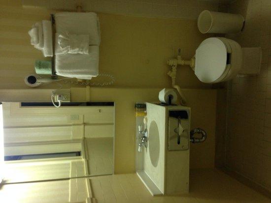 Hotel Whitcomb: Toilette