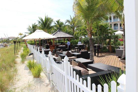 Seven Stars Resort & Spa: The Deck restaurant--delicious!