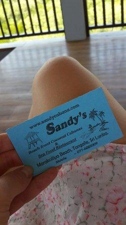 Sandy Cabanas : Визитка