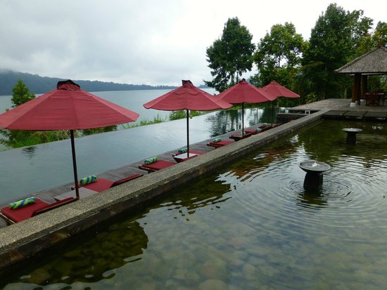 Puri Candikuning Retreat: View from the restaurant is beautiful