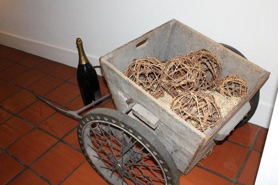 Mumm Napa: Grape wagon
