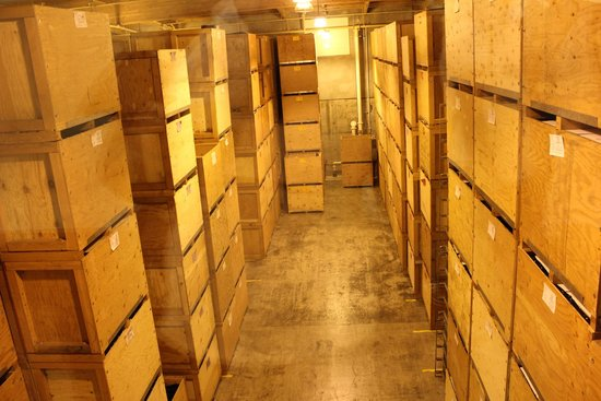 Mumm Napa: Storage for aging