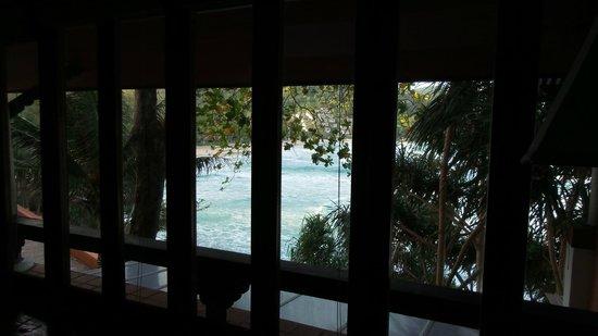 Mom Tri's Villa Royale: view from the living room, villa no.4 Hong See