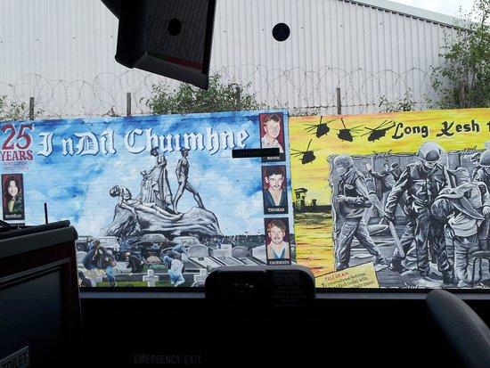 Belfast City Sightseeing : Falls Road Murals, Belfast