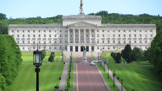 Belfast City Sightseeing : Nth. Ireland Parliament Building in Stormont