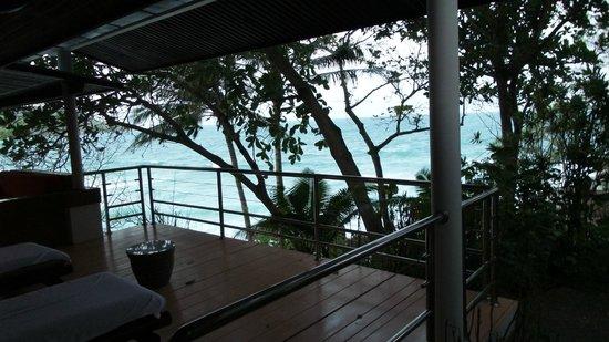 Mom Tri's Villa Royale: view from Balcony, villa no.4 Hong See