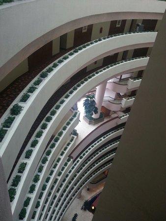 Ambassador Row Hotel Suites by Lanson Place : Vista dei corridio dall'undicesimo piano