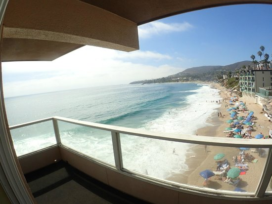 Pacific Edge Hotel on Laguna Beach : Oceanfront Junior Suite Balcony
