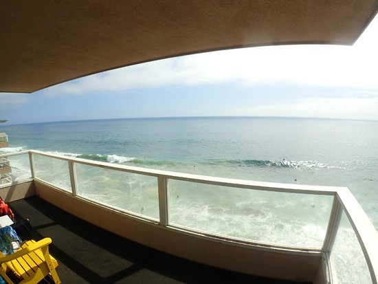 Pacific Edge Hotel on Laguna Beach : Oceanfront Junior Suite Balcony