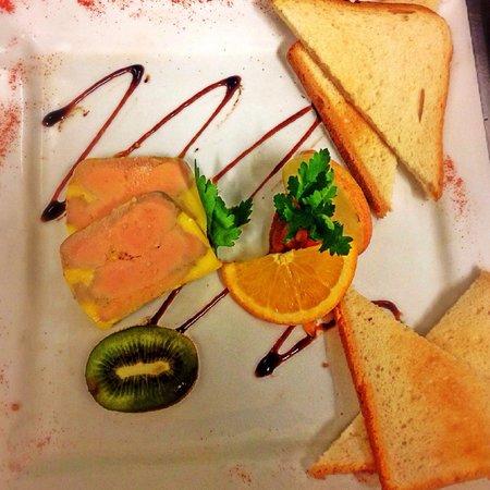 Le Grand Hotel : Terrine de foie gras
