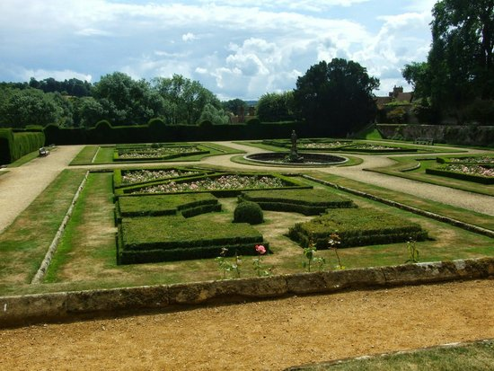 Penshurst Place & Gardens: One of the gardens