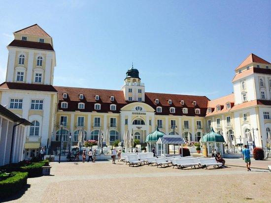 Travel Charme Kurhaus Binz: Das Hotel sieht wirklich so aus wie in der Werbung!