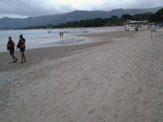 Chaweng Garden Beach Resort : Beautiful beach
