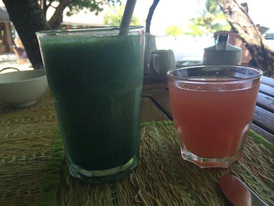 Cocoa Island by COMO : Como Shambala juices