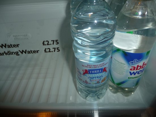 Novotel London Paddington: expensive water