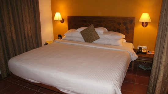 Club Mahindra Madikeri, Coorg: The bed, cozy and comfortable