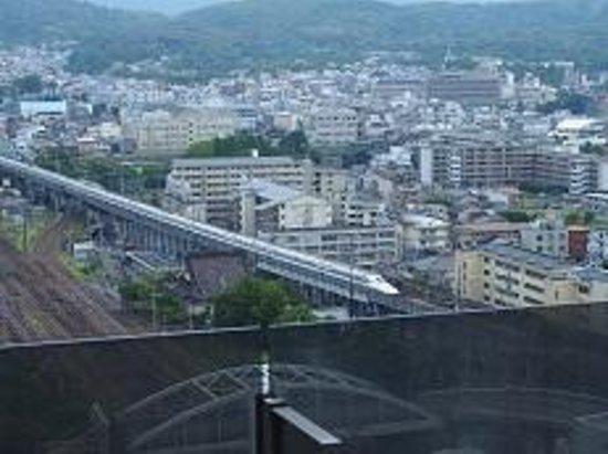 Hotel Granvia Kyoto: 部屋からの眺め