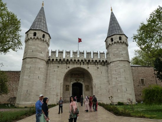 Topkapi Palace : ворота