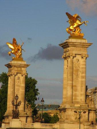 Pont Alexander III from Vedettes de Paris Cruise