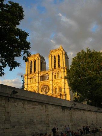 Notre Dame from Vedettes de Paris Cruise