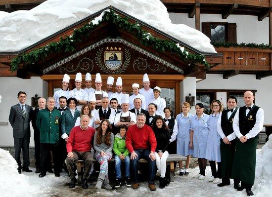 Hotel Bertelli: Staff