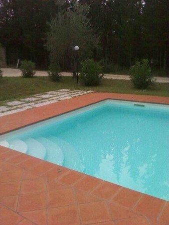 Casa Morgana: la piscina