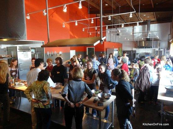 North Berkeley Kitchen - Picture of Kitchen on Fire ...