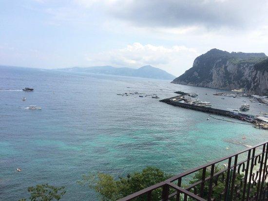 Capri Inn : Oda Manzara 1