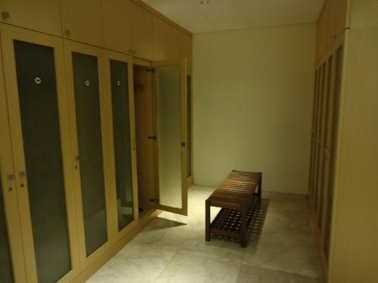 Padma Resort Legian: サウナ・シャワールーム