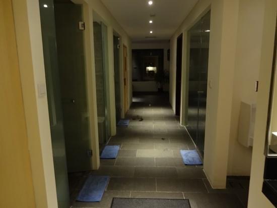 Padma Resort Legian : サウナ・シャワールーム
