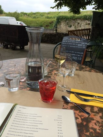 Les Gueules Noires : The most picturesque meal I've ever eaten