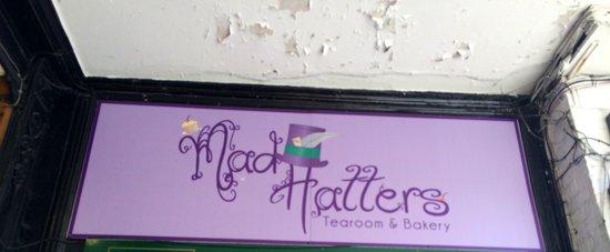 Mad Hatters Tearoom & Bakery: Cartel