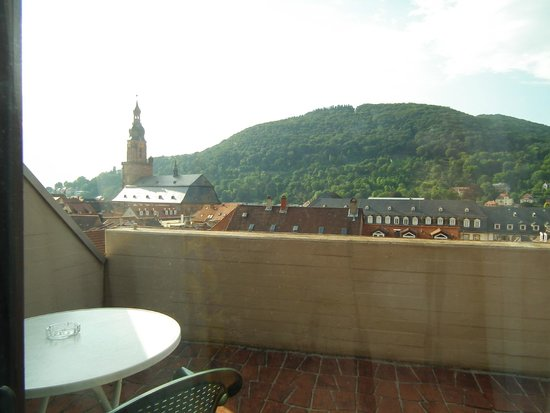 Hotel Am Schloss : Balcony