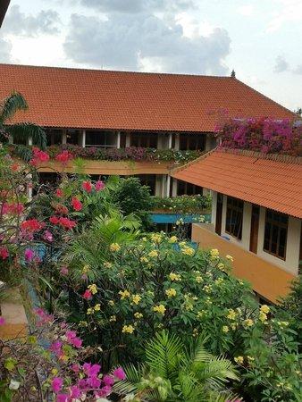 Febri's Hotel & Spa: View from Balcony