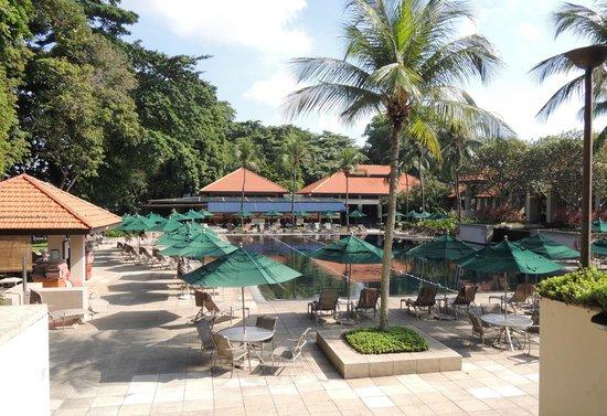 Sofitel Singapore Sentosa Resort & Spa: La piscine