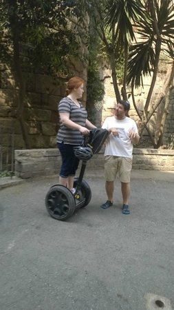 Barcelona Segway Glides: Training with Edgar