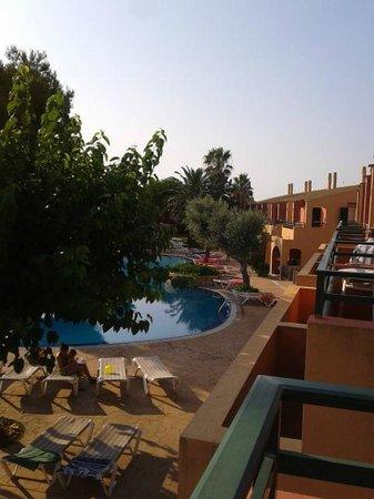 Aparthotel Club Andria: vista piscina